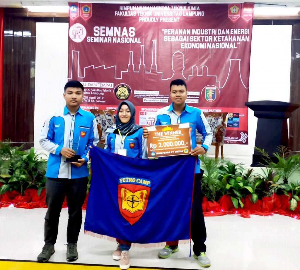 Juara 1 Nasional Lomba Rancang Alat